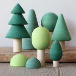 اسباب بازی چوبی چلیک: مجموعه جنگل